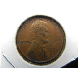 1911 Lincoln cent.