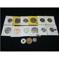 (15) foreign coins