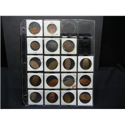 Page of ELONGATED cents
