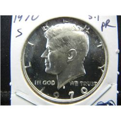 1970 S Silver Proof Kennedy