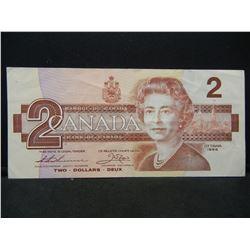 1986 Ottowa Canada $2 UNC