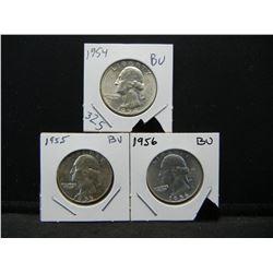 1954,55,56 BU Quarters. WOW!