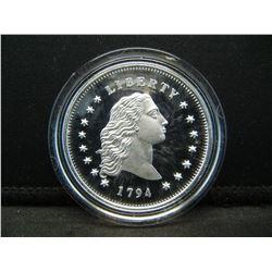 Neat 1794 Restrike proof dollar