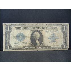 1923 Saddleback Large Silver Certificate RARE bill