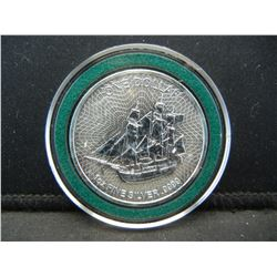 Cook Island Silver Dollar 999 Silver