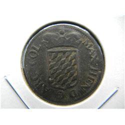 (1660) Liege 1 Liard.  F.