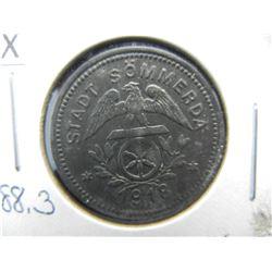1918 Germany, Soemmerda 50 Pfennig Notgeld.