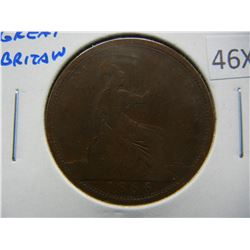 1866 Great Britain Penny.