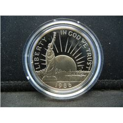 1986-S Ellis Island Statue of Liberty Proof Commemorative Half Dollar.