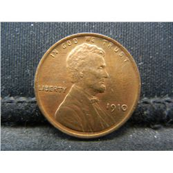1910 Lincoln Head Cent.  Nice Color.