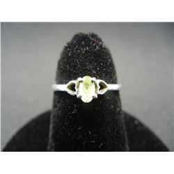 """Sterling Silver Woman's Ring.  Ring Marked """"STERLING"""""""