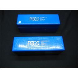 Two PCGS 20 Coin Storage Containers.