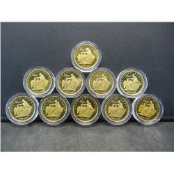 (10), AMERICAN BICENTENNIAL (200 YRS) COINS, SELL INDIVIDUALLY, UNCIRCULATED, Encapsulated For Futur