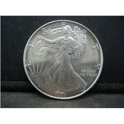 1993 American Silver Eagle.  GEM BU.
