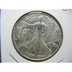 1998 American Silver Eagle.  GEM BU.