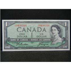 1954 Canada $1.  GEM Crisp Uncirculated.  Very High Grade.