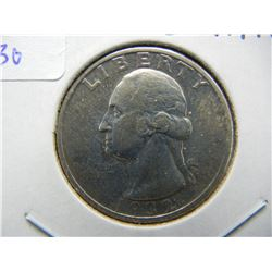 1932-S Washington Quarter.  Almost Uncirculated details.  RARE low mintage coin.