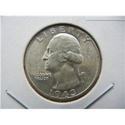 1943-S Washington Quarter.  Brilliant Uncirculated.  Tough one in the series.