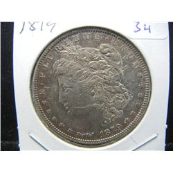 1879 Morgan $1.  Almost Uncirculated.