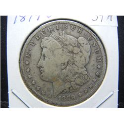 1879-O Morgan $1.  Very Good.