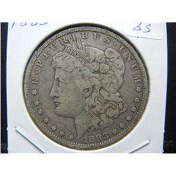 1883-O Morgan $1.  Fine.