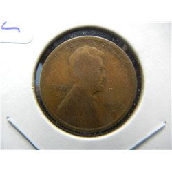 1910-S Lincoln Cent.  Semi-Key.  Good.