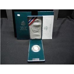 1990-S Eisenhower commemorative $1.  Gem Proof in government package.
