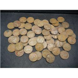 1917-D Wheat Cent Rolls.  Nice circulated coins.  Not junk.