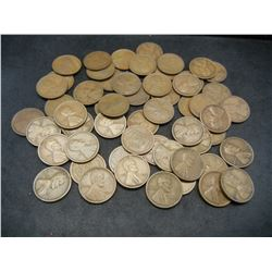 1918-S Wheat Cent Rolls.  Nice circulated coins.  Not junk.