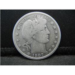 1907 Barber Half Dollar