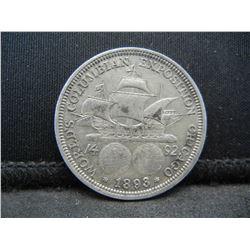 1893 US Columbian Half Dollar