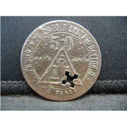 Southern Mining Co. Insurance Credit System Dayton, O Trade Token
