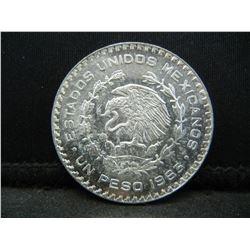 1963 Mexican Un Peso
