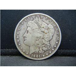 1901 S Morgan Dollar