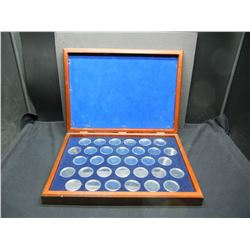Morgan or Peace Dollar Coin Case With Capsules