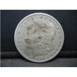 1897 O Morgan Dollar
