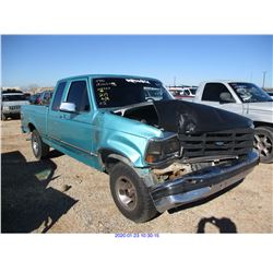 1995 - FORD F150/RESTORED SALVAGE