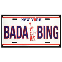 Bada Bing by Steve Kaufman (1960-2010)
