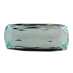 8.77 ct.Natural Cushion Cut Aquamarine