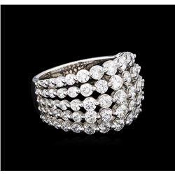 2.61 ctw Diamond Ring - 14KT White Gold