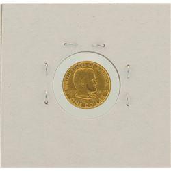 1922 $1 Ulysses S Grant Commemorative Gold Coin