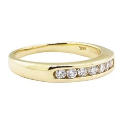 0.35 ctw Diamond Ring - 14KT Yellow Gold