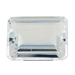 3.15 ct.Natural Emerald Cut Aquamarine