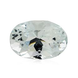 4.21 ct.Natural Oval Cut Aquamarine