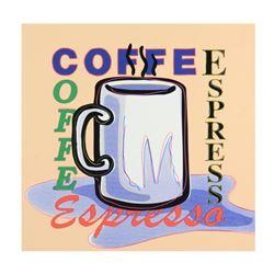Espresso by Steve Kaufman (1960-2010)