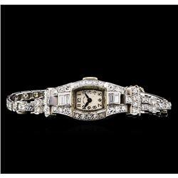 Hamilton 2.62 ctw Diamond Ladies Watch