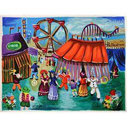 Shlomo Alter At the Circus