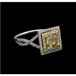 14KT White Gold 1.60 ctw Diamond Ring