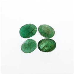 4.95 cts. Oval Cut Natural Emerald Parcel