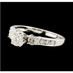 0.98 ctw Diamond Ring - 14KT White Gold